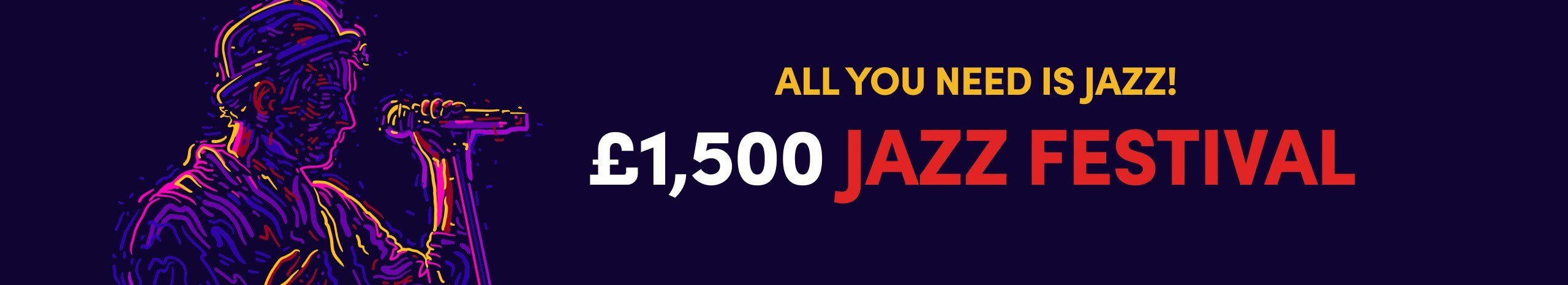 £1,500 Jazz Festival